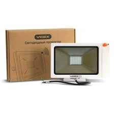 LED Прожектор VIDEX Slim Sensor 20W  5000K 220V